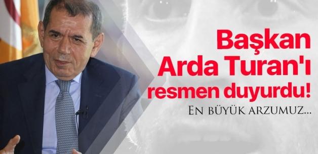 Başkan Dursun Özbek'ten Arda Turan açıklaması