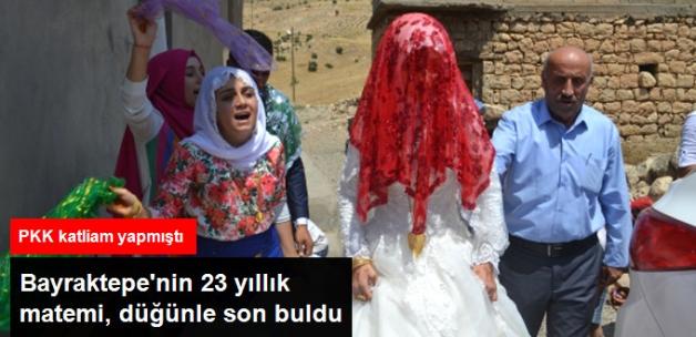 Bayraktepe'nin 23 Yıllık Matemi Düğünle Son Buldu