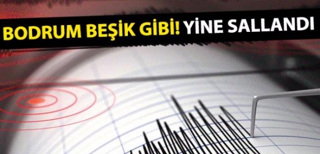 Bodrum Gökova Körfezi'nde deprem (Son depremler)Son dakika... Muğla'da 4.5 büyüklüğünde deprem!