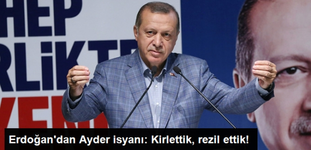 Cumhurbaşkanı Erdoğan'dan Ayder İsyanı: Kirlettik, Rezil Ettik!