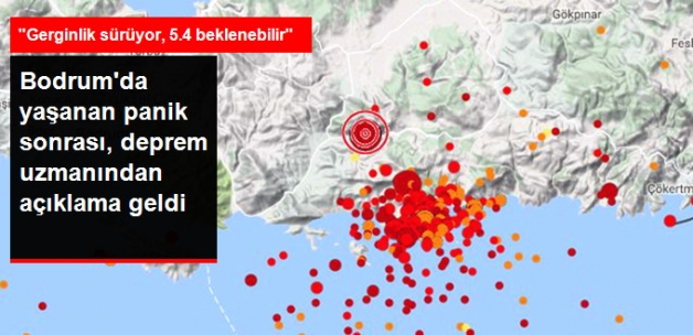 Deprem Uzmanından Beşik Gibi Sallanan Bodrum İçin Açıklama: 5.4 Beklenebilir