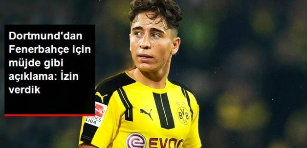 Dortmund, Fenerbahçe'nin Teklif Yaptığı Emre Mor'a Transfer İzni Verdi