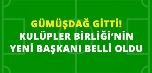 Galatasaray Başkanı Dursun Özbek, Kulüpler Birliği Başkanı Oldu
