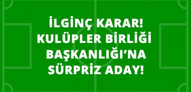 Galatasaray Başkanı Dursun Özbek, Kulüpler Birliği Başkanlığı'na Aday Olacak