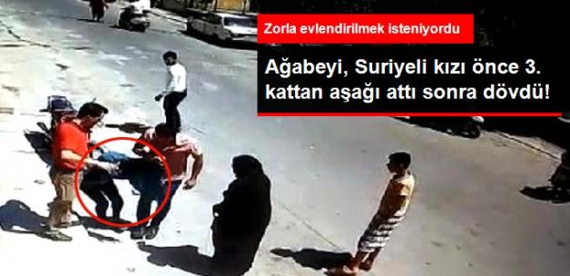"""Gerçek Ortaya Çıktı! """"3. Kattan Atladı"""" Denilen Suriyeli Kızı, Ağabeyi Aşağıya Atmış!"""
