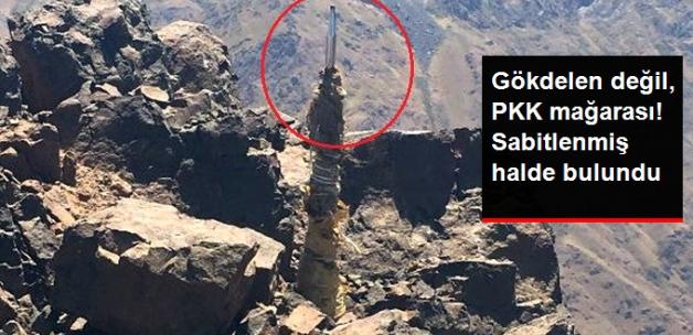Hakkari'de 3 Teröristin Öldürüldüğü Mağaranın Üzerine Sabitlenmiş Paratoner Bulundu