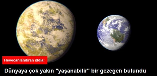 """Heyecanlandıran İddia: Dünya'ya Yakın Yeni Bir """"Yaşanabilir"""" Gezegen Bulundu"""