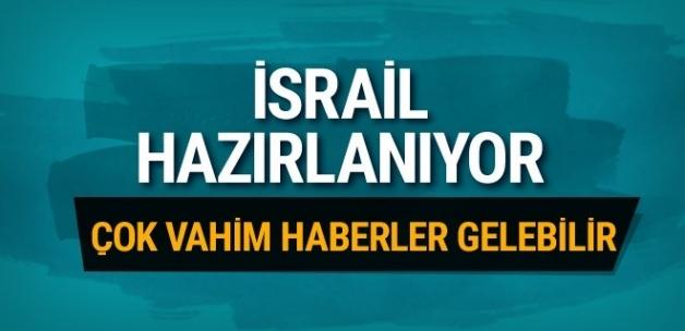İsrail basını son dakika olarak duyurdu! İsrail yine hazırlanıyor