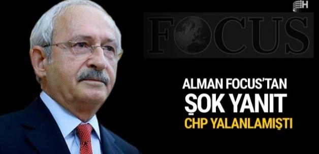 Kılıçdaroğlu'na Alman Focus dergisinden şok yanıt