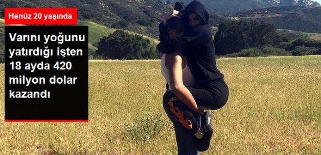 Kylie Jenner, Kozmetik Markasından 420 Milyon Dolar Kazandı