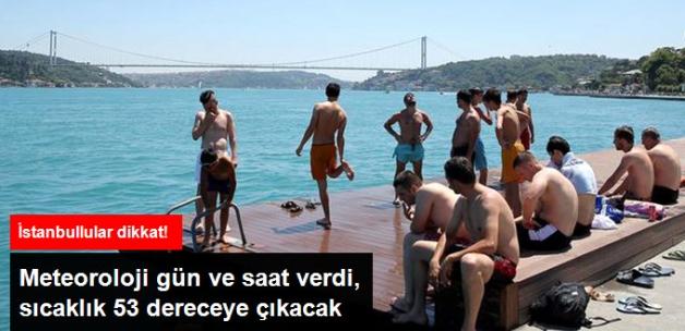 Meteoroloji Duyurdu: İstanbul'da Sıcaklık 53 Dereceye Çıkacak