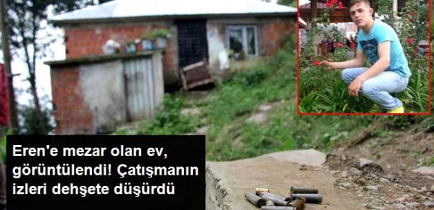 Trabzon'da teröristler erzak çaldığı ev burada çatışma çıktı!PKK'lı Teröristlerle Çatışmanın Yaşandığı