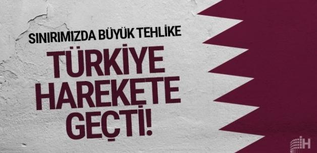 Sınırımızda büyük tehlike! Türkiye harekete geçti
