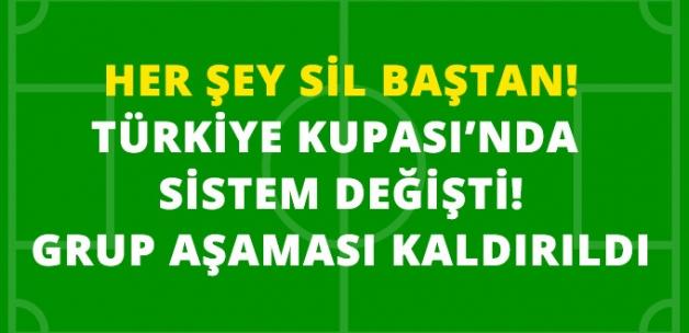TFF, Türkiye Kupası'nda Grup Maçlarını Kaldırdı, Eleme Sistemi Geldi
