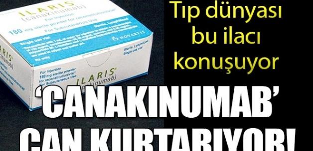 Tıp dünyası bu ilacı konuşuyor: 'Canakinumab' can kurtarıyor