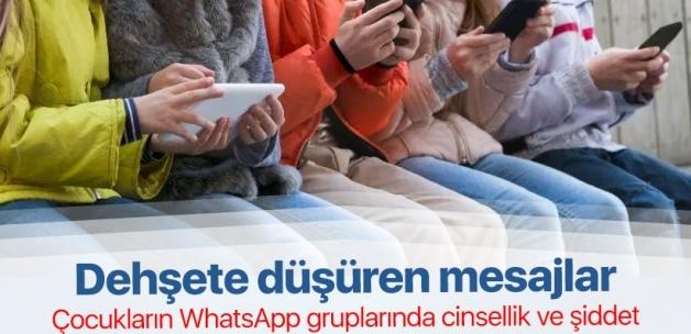 WhatsApp gruplarında çocuklara korkunç tuzak