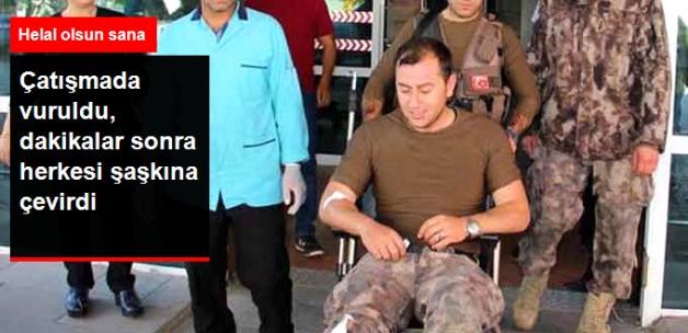 Yaralı Özel Harekatçı Ayağına Dikiş Attırıp Operasyona Gitti