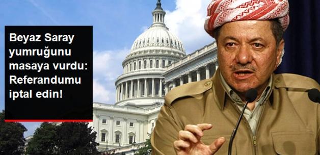 ABD'den Barzani'ye Çağrı: Desteklemiyoruz, Referandumu İptal Edin!