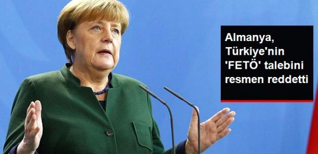 Almanya Türkiye'nin 'FETÖ' Talebini Resmen Reddetti