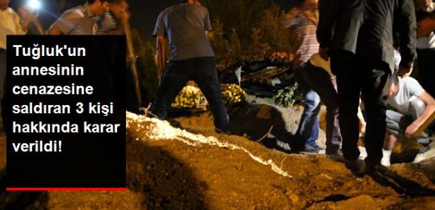 Aysel Tuğluk'un Annesinin Cenazesine Saldıran 3 Zanlı Tutuklandı
