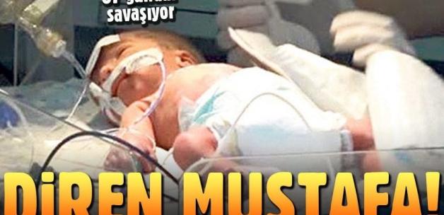 Babası annesini öldürdü, 87 gündür yaşam savaşı veriyor