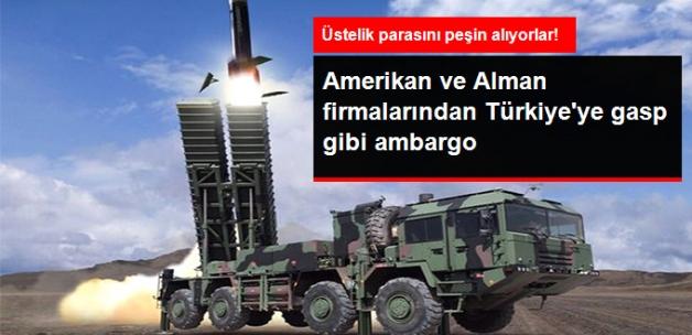 Bakan Canikli: Amerikan ve Alman Firmaları, Türkiye'ye Örtülü Ambargo Uyguluyor