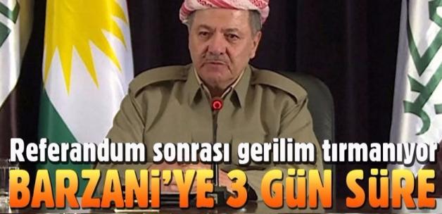 Barzani'den referandum sonrası yeni açıklama: Irak Hükümeti Kürtleri tehdit etmeyi bırakmalı