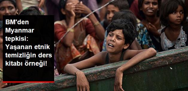 BM'den Myanmar Yönetimine Tepki: Etnik Temizliğin Ders Kitabı Örneği