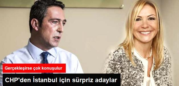 CHP'den İstanbul İçin Sürpriz Adaylar: Ali Koç ve Ümit Boyner