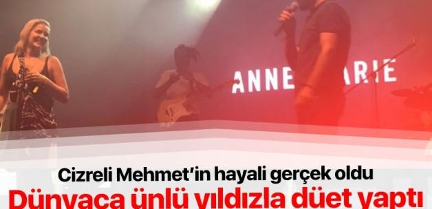 Cizreli Mehmet'in hayali gerçek oldu