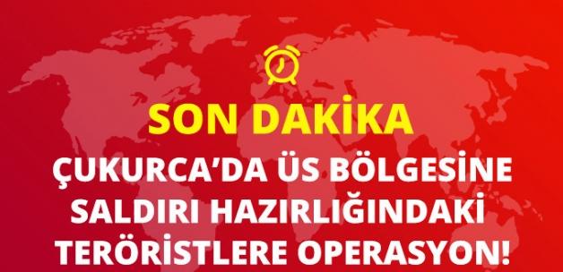 Çukurca'da Üs Bölgesine Saldırı Hazırlığındaki 3 Terörist Öldürüldü