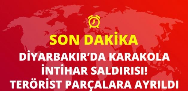 Diyarbakır'da Karakola Bomba Yüklü Minibüsle İntihar Saldırısı: 1 Asker Yaralandı