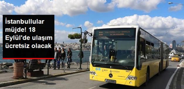 Eğitim Yılının İlk Günü, İstanbul'da Ulaşım Ücretsiz