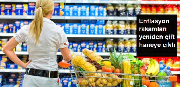 Enflasyon Ağustosta Yüzde 0,52 Arttı, Yeniden Çift Haneye Çıktı