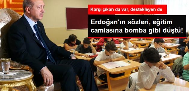 """Erdoğan'ın """"TEOG Kaldırılmalı"""" Açıklamasına Eğitimcilerden Farklı Yorumlar"""