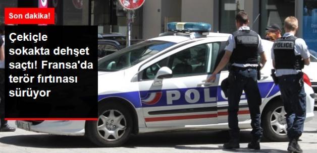 Fransa'da Bir Kişi Çekiçle Rastgele Sivillere Saldırdı