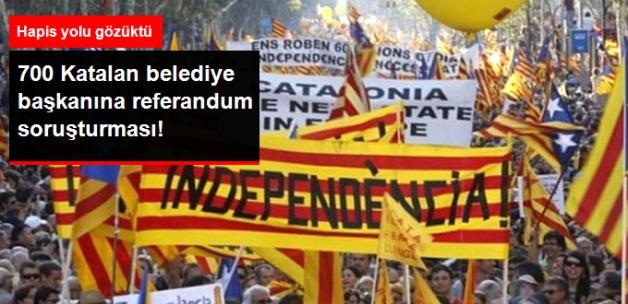 İspanya'da 700'ü Aşkın Katalan Belediye Başkanına, Referandum Soruşturması