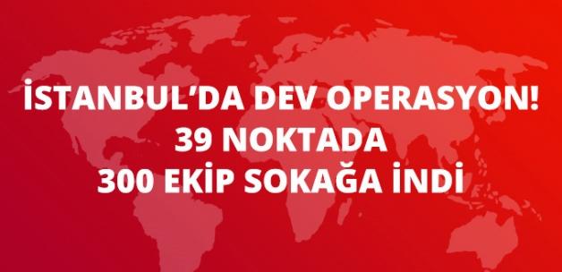 İstanbul'da Dev Operasyon! 39 Noktada 300 Ekiple Ticari Araçlar Denetleniyor