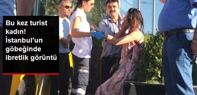 İstanbul'un Göbeğinde İbretlik Uyuşturucu Görüntüleri