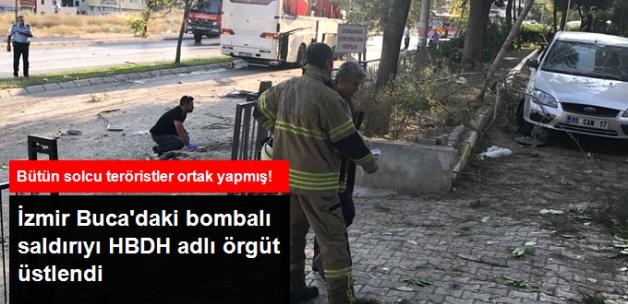 İzmir Buca'daki Bombalı Saldırıyı HBDH Üstlendi