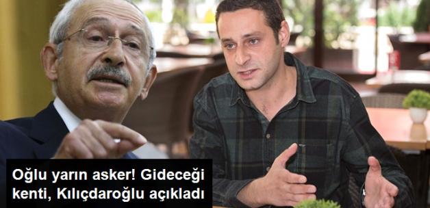 Kılıçdaroğlu'nun Oğlu Kerem, Yarın Askere Gidiyor