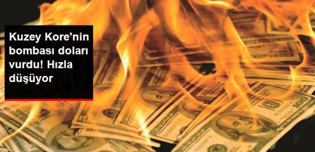 Kuzey Kore'nin Hidrojen Bombası Denemesi Dolara Değer Kaybettirdi