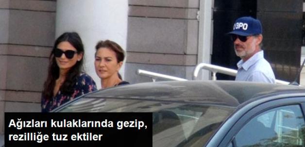 Murat Başoğlu Boşandığı Eşiyle Adliye Önünde Şakalaştı