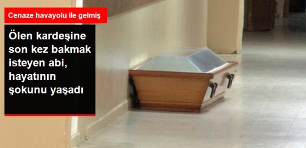 Ölen Erkek Kardeşine Son Kez Bakmak İsteyen Abi, Kadın Cenazesini Görünce Şoke Oldu
