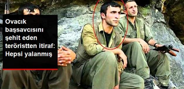 Ovacık Başsavcısını Şehit Eden Teröristten İtiraf: PKK'nın Söyledikleri Yalanmış