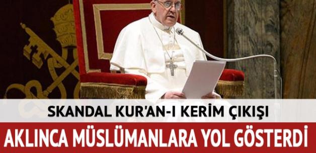 Papa'dan skandal Kuran-ı Kerim açıklaması: Eleştirel çalışma yapmaları iyi olur