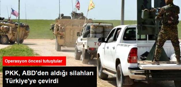 PKK, ABD'den Aldığı Silahlarını Türkiye'ye Çevirdi!