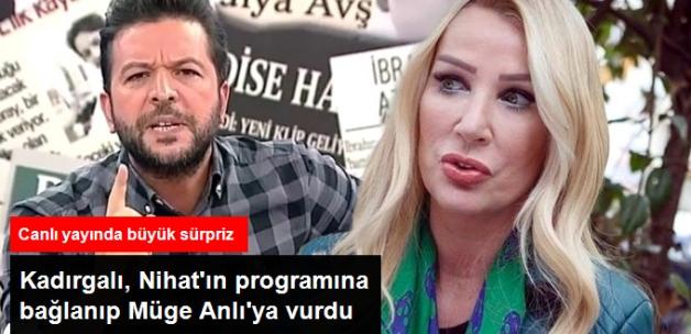 Seda Sayan, Nihat Doğan'ın Programına Bağlanıp Müge Anlı'ya Gönderme Yaptı