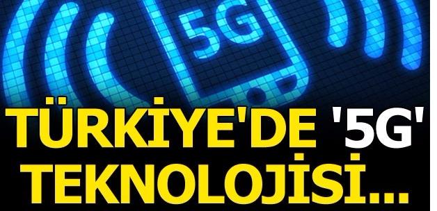 Son dakika: Bakan Arslan'dan flaş '5G' açıklaması