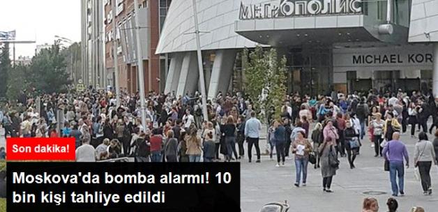 Son Dakika... Moskova'da Bomba Alarmı! 10 Bin Kişi Tahliye Edildi